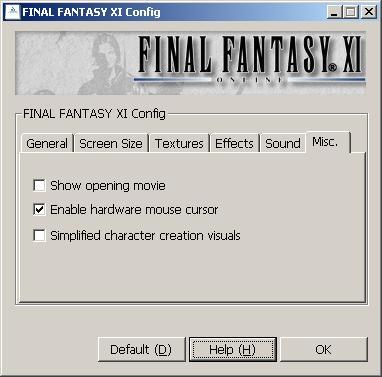 Disabling Mouse in FFXI for Dual-Monitor Setup? - Dreams in Vanadiel